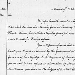 Document, 1781 October 09