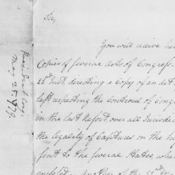 Document, 1779 May 25