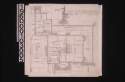 Foundation plan : section thro' wall footings\, detail of pier footings : Sheet no. 1\,