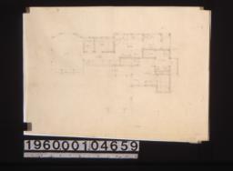 Partial first floor plan.
