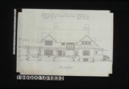 Side elevation :Sheet no. 5\,