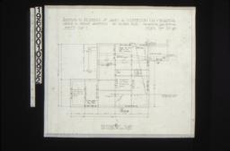 Foundation plan : Sheet no. 1\,