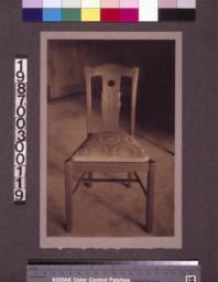 Master bedroom chair.