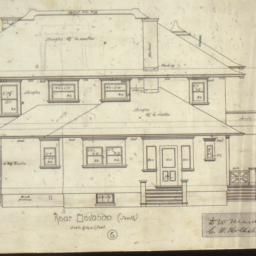 House for C. W. Hollister, ...