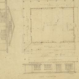"""Plans of the """"dug-out"""" for ..."""