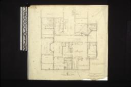 Second floor plan :Sheet no. 1. (2)