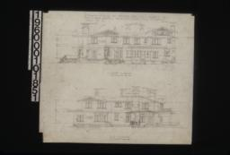 South elevation; east elevation : Sheet no. 5.