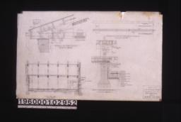 """Detail of end joint\, details of tie beam of truss\, sect'n C-C\, detail at """"A"""" on sect'n """"A-A"""" (sheet no. 3) :Sheet no. 4."""