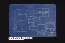 Roof plan and sections for ice Mfg. & cold storage plant for Pomona Valley Ice Co\, Pomona\, Cal. /Sheet 3.