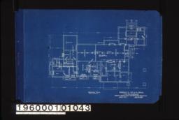 Basement plan :Sheet no. 1.
