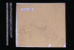 Rough sketch of partial floor plan