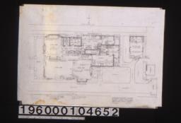 Plan of first floor :Sheet no. 1.