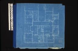 Second floor plan :Sheet no. 1. (3)