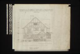 Front elevation : Sheet no. 4.