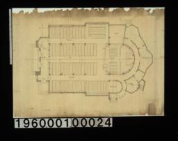 Main floor plan.