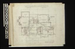Second floor plan\, unidentified sketch :Sheet No. 3\,