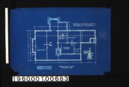Foundation plan with wall section. (2)