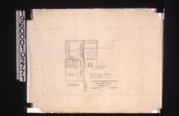 Partial first floor plan :Sheet no. 1.
