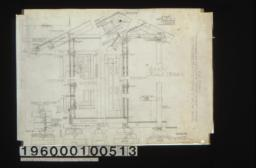 1 1/2 inch scale details in sections and elevations of walls and roof :Sheet no. 5.