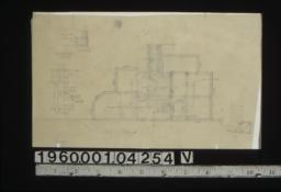 Sketch of plan of stairs