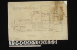 First floor plan :Sheet no. 3.