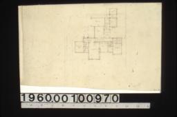 Scheme #3 -- first floor plan