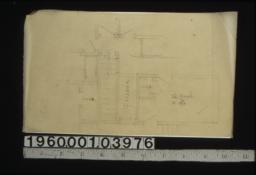 Sketch of partial second floor plan