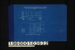 Details of kitchen interior -- north elevation\, west elevation :Sheet no. 8. (2)