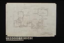 First floor plan : Sheet no. 2.