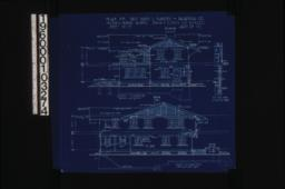 South elevation; east elevation; details of screened porch :Sheet no. 5\, (2)