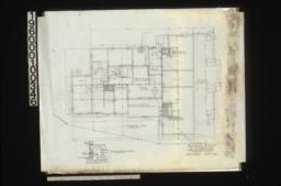 Foundation plan\, section of walls and girders : Sheet no. 2.