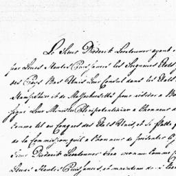 Document, 1785 August 10