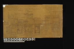 1 1/2 inch scale and F. S. details of buffet :Sheet no. 3. (2)