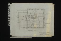Second floor plan :Sheet no. 3. (3)