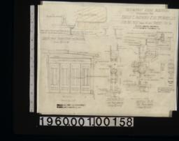 Breakfast room addition -- details in sections and plans :Sheet no. 6 / (2)