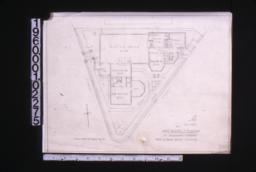 Plan of first floor and grounds :1. (2)