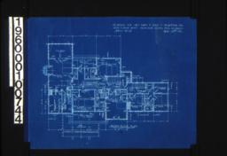 Second floor plan :Sheet No. 3\, (3)