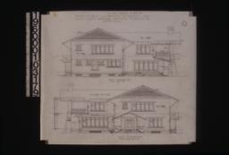 West elevation\, east elevation :Sheet no. 4. (2)