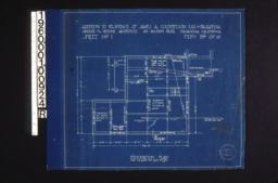 Foundation plan :Sheet no. 1\, (3)