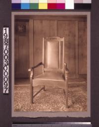 Entry hall chair.