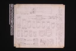 Inch scale and F.S. details of sash : Sheet no. 16,