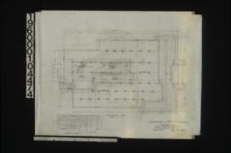 Foundation plan; elev. of furnace : Sheet no. 1.