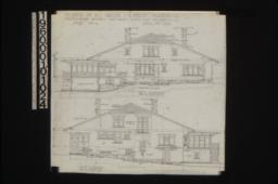 East elevation, west elevation : Sheet no. 6.,