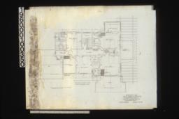 Second floor plan : Sheet no. 4