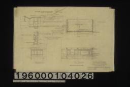 Addition to residence -- plan\, east elevation\, south elevation; construction details in sections :Sheet no. 1.