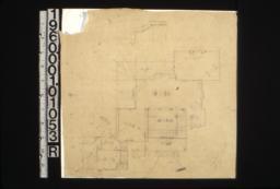 Sketch of floor plan