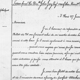 Document, 1782 June 27