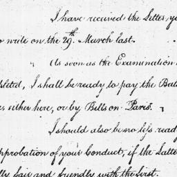 Document, 1782 April 02
