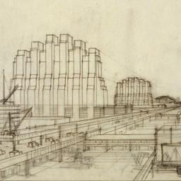 Imaginary drawings.Seaport