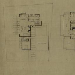 [Floor plans for unidentifi...